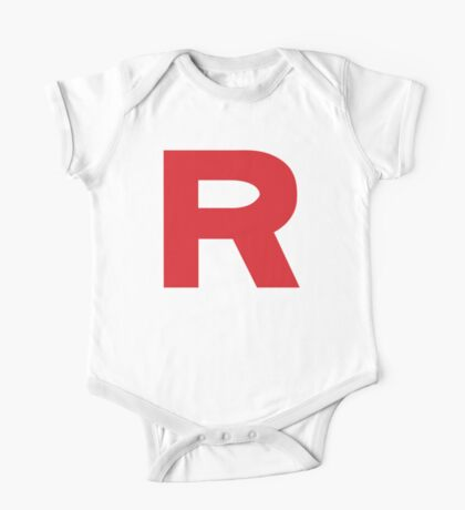 Team Rocket Logo Kids Clothes