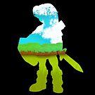 Zelda - Silhouette von kijkopdeklok