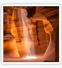 Antelope Canyon Gorgeous Lightbeam Sticker