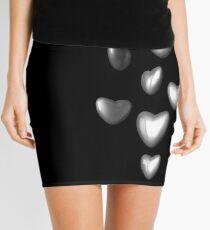 Unbreakable hearts metal Mini Skirt