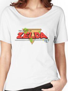 The Legend of Zelda Logo Women's Relaxed Fit T-Shirt
