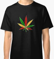 Camiseta clásica naturaleza feuille
