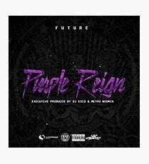 Future - Purple Reign Photographic Print