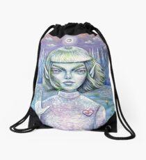 Love and Logic Drawstring Bag