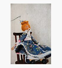 Peg Doll Photographic Print