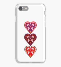 Folk Hearts iPhone Case/Skin