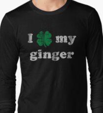 I Shamrock My Ginger St Patrick's Day Long Sleeve T-Shirt