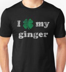 I Shamrock My Ginger St Patrick's Day Unisex T-Shirt