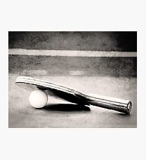 Ping Pong Photographic Print