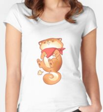 Rude Dog- Tiny Farts Women's Fitted Scoop T-Shirt