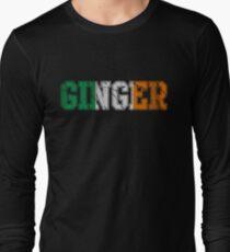 Distressed Irish Ginger St Patrick's Day T-Shirt