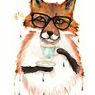 A Cuppa Tea With A Fox by Ryan Conners