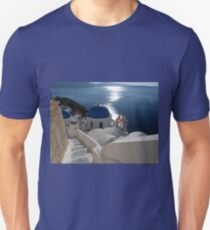 Stairway to Blue Domed Church Unisex T-Shirt