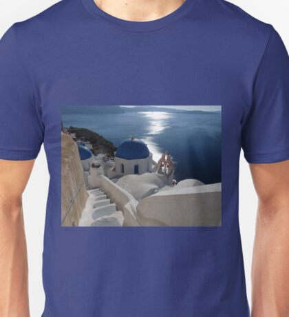 Stairway to Blue Domed Church T-Shirt