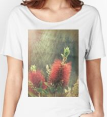 Bottle Brush Plant Women's Relaxed Fit T-Shirt