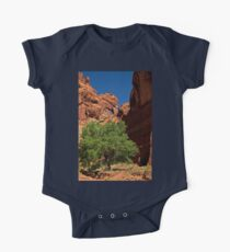 The Tree and the Window One Piece - Short Sleeve