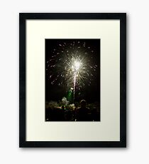 Shooting Sky Framed Print