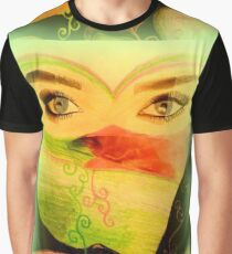Artwork by Lucinda S. Rusted Graphic T-Shirt