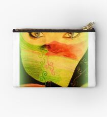 Artwork by Lucinda S. Rusted Studio Pouch