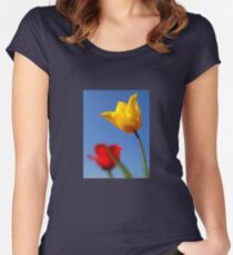 Tulips for You.. Women's Fitted Scoop T-Shirt