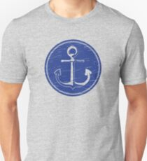 Anchor (one color - blue) T-Shirt