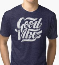 Camiseta de tejido mixto Good Vibes - Feel Good camiseta Design