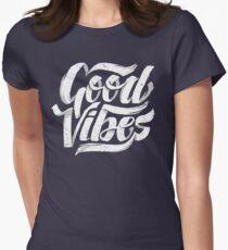 Good Vibes - Feel Good T-Shirt Design Women's Fitted T-Shirt