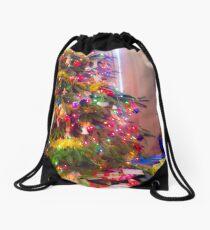 Christmas Tree Drawstring Bag