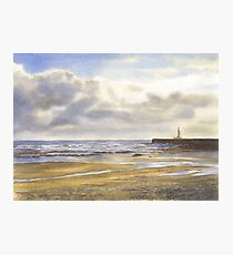 View to Roker Pier Photographic Print