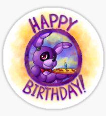 "Bonnie - ""Happy Birthday! Sticker"