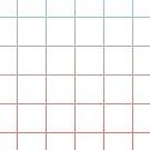 Large Checks Peach Echo & Limpet Shell Gradient Pattern by Alina Shevchenko