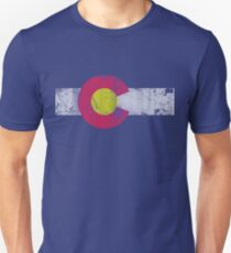 Vintage State Flag of Colorado Unisex T-Shirt