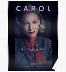CAROL // Alternatives Filmplakat # 2 Poster