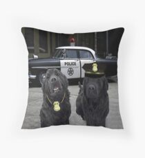 "☞ º°""˜`""°☜♥☞ BAD BOYS TAKEN FROM THEME SONG-POLICE DOGS THROW PILLOW ☞ º°""˜`""°☜♥☞ Throw Pillow"