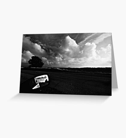 Cloud Driveby Greeting Card
