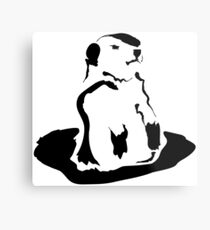groundhog Metal Print