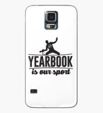 Jahrbuch ist unser Sport Hülle & Klebefolie für Samsung Galaxy
