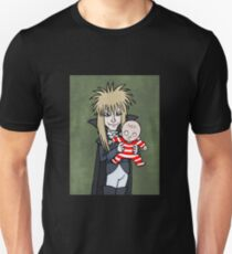 The Goblin King with Toby cartoon Unisex T-Shirt