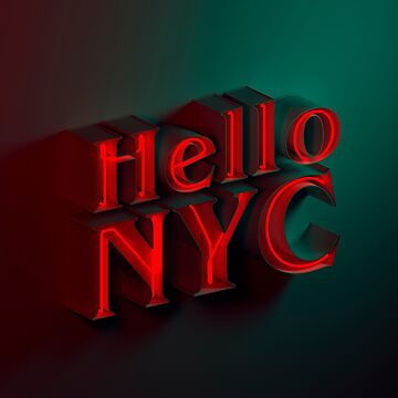 Hello NYC by marcgraphics