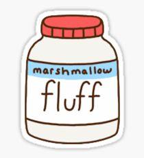Marshmallow Fluff Sticker
