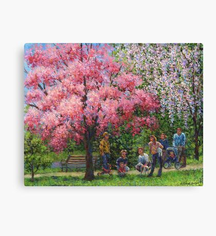 One Spring Morning Canvas Print