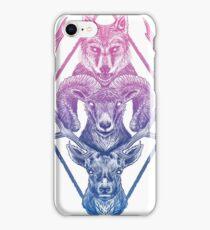 Wolfram Hart (Color) iPhone Case/Skin