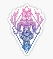 Wolfram Hart (Color) Sticker