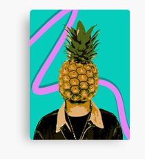 I Can't Fruit My Face Canvas Print