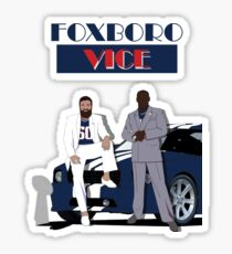 Foxboro Vice Sticker