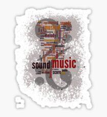 Sound Music Sticker