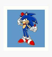 Sonic Screwdriver Art Print