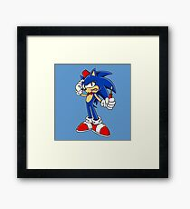 Sonic Screwdriver Framed Print
