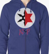 Ninja Sex Party Zipped Hoodie
