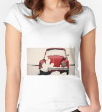 Winter Reds Women's Fitted Scoop T-Shirt